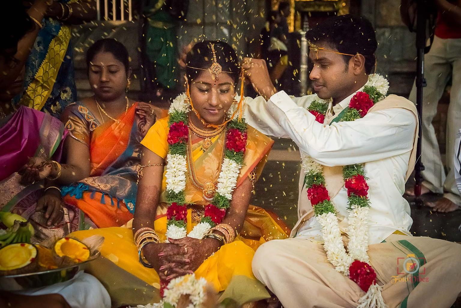 Candid Wedding Photography Erode